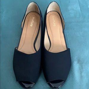 Nurture brand navy blue shoes